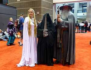 Tolkien fandom - A cosplay of The Lord of the Rings characters