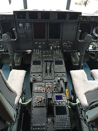 Lockheed Martin C-130J Super Hercules - Super Hercules cockpit
