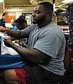 CJ Mosley (defensive lineman) 2012.jpg
