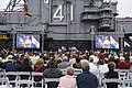 CNO addresses guests during the 75th Anniversary Battle of Midway commemoration. (34992675812).jpg