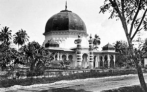 Al-Osmani Mosque - The mosque, taken around 1900-1916