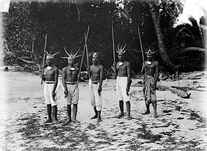 Bengkulu - Bengkulu traditional warriors.