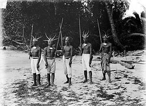 Bengkulu - Bengkulu traditional warriors.