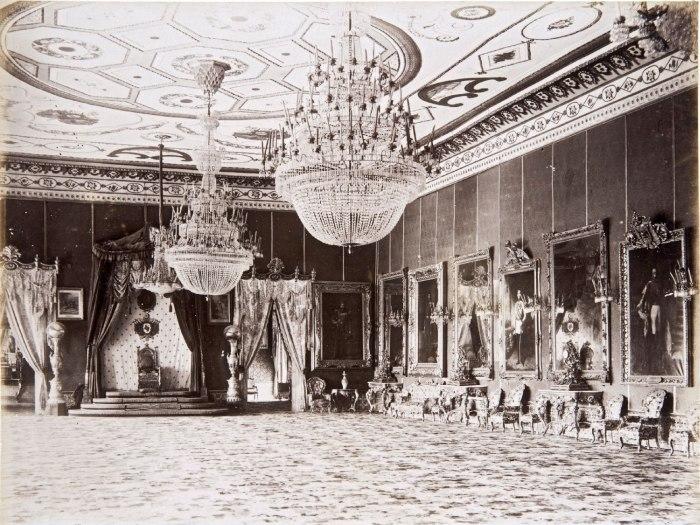 COLLECTIE TROPENMUSEUM Troonzaal in het Bardo-museum te Tunis TMnr 60022135