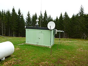 Comprehensive Nuclear-Test-Ban Treaty Organization - Radionuclide station on Schauinsland in Germany