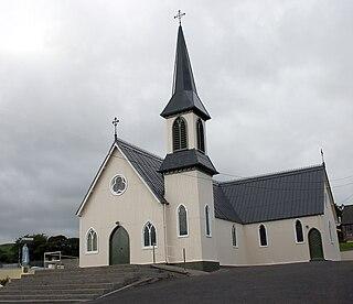 Rearcross Village in Munster, Ireland