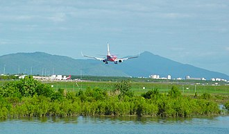 Barron River (Queensland) - The mouth of the Barron River is just north of Cairns Airport