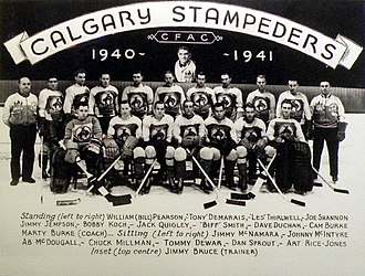 Calgary Stampeders (ice hockey) - 1940-41 Calgary Stampeders
