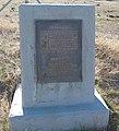 Caliente, California area state historic marker for Bealville.jpg