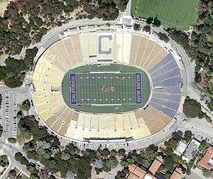 2014 International Champions Cup - Image: California Memorial Stadium aerial