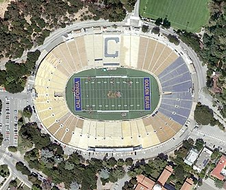 2014 International Champions Cup - Image: California Memorial Stadium aerial