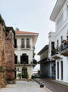 Casco Viejo, Panama Historic District of Panama City in Panamá