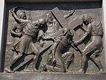 Calvary of Karl I of Austria. Station 3. Jesus falls the first time. - Tihany.JPG