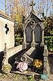 Cambrai - Cimetière de la Porte Notre-Dame, sépulture remarquable n° 52, famille Houillon-Pruvot, tombe remarquable (01).JPG