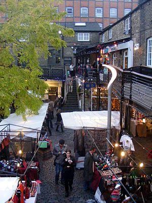 Camden Market - Camden Lock Market
