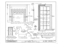 Campbell House, State Highway 20, Tennessee Street, Courtland, Lawrence County, AL HABS ALA,40-CORT,1- (sheet 4 of 4).png