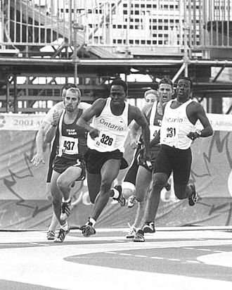 Canada Games - Running competitions during the 2001 Canada Games in London, Ontario
