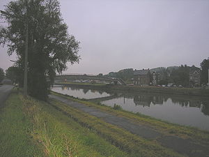 Luttre - The canal at Luttre