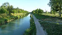 Canal de la Saône à la Marne vue du pont de Maxilly sur Saône.JPG