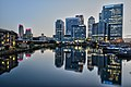 Canary Wharf after sunset (14950863732).jpg