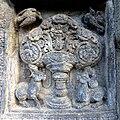 Candi Prambanan - 084 Kalpataru and Deer, Brahma Temple (12042075013).jpg