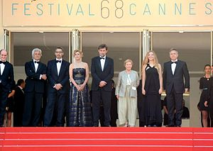 Mia Madre - Cast and director at the 2015 Cannes Film Festival