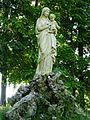 Caorches-Saint-Nicolas (Eure, Fr) statue Vierge et Enfant.JPG