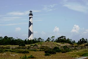 Cape Lookout National Seashore - Image: Cape Lookout Lighthouse 2013 06 07
