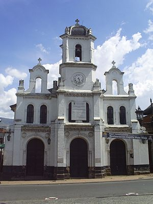 Bello, Antioquia - Chapel of Nuestra Señora del Rosario in Hatoviejo, better known as the Hatoviejo Chapel.