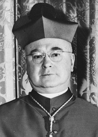 Francis Spellman - Archbishop Francis Spellman in 1946