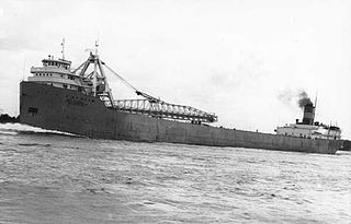 SS <i>Carl D. Bradley</i> Self-unloading Great Lakes freighter that sank in a Lake Michigan storm