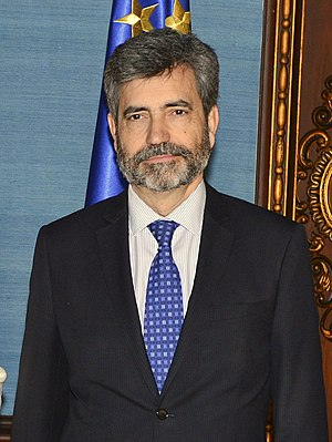 President of the Supreme Court of Spain - Image: Carlos Lesmes 14.03.28 Presidente C.G.P.J. 4
