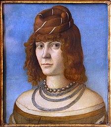 Carpaccio (attr.), ritratto di donna, 1495-1500 ca. 02.jpg
