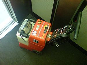 Carpet cleaning - A Rug Doctor rental carpet cleaning machine
