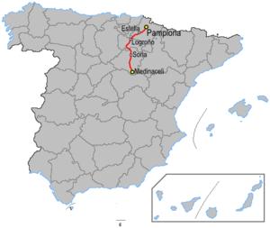 N-111 road (Spain) - Image: Carreteraesp n 111