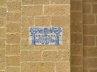 Cartel de declaración de Monumento de la Catedral de Ciudad Rodrigo (1889).jpg