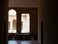 Cartoixa d'Ara Christi, vista cap a un claustre.JPG
