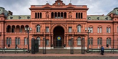 Cómo llegar a Casa Rosada en transporte público - Sobre el lugar