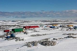 Antarctic base in Australian Antarctic Territory, Australia