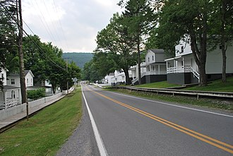 National Register of Historic Places listings in Pocahontas County, West Virginia - Image: Cass WV Main Street