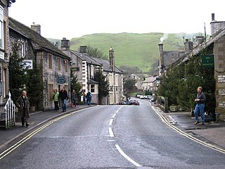 Castleton, Derbyshire village and civil parish in High Peak, Derbyshire, England