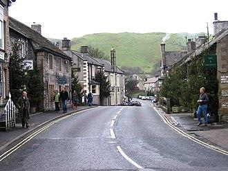 Castleton, Derbyshire - Image: Castleton, Derbyshire geograph.org.uk 682874