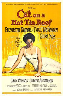 1958 American drama film directed by Richard Brooks