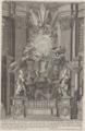 Catedra di San Pietro collocata da N. S. Papa Alessandro VII nella tribuna della Basilica Vaticana by Giovanni Battista Falda (1665).png