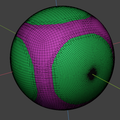 Catmull-Clark limit surface of Cube (compare sphere).png