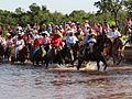 Cavalgada em Santa Rita do Pardo-MS Tradição.JPG