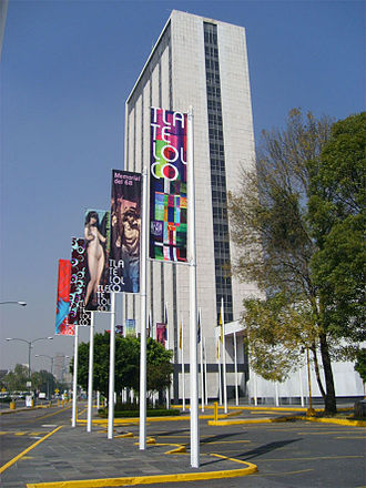 Tlatelolco massacre - The old foreign ministry building sits where the event took place.