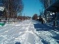 Cedar Grove station covered in snow, December 2010.jpg