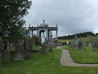 James Matheson - James Matheson's Tomb in Lairg Scotland