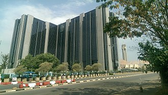 Abuja - A view of the Central Bank of Nigeria headquarters